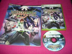 Phantasy Star Universe with Bradygames Guide Xbox 360 Good Condition