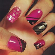 SchuCo Designs: Nail Art Roundup: Easy DIY Nail Designs