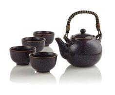 Aubergine Teapot