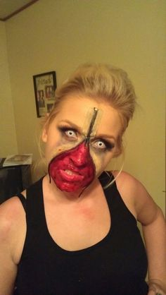 20 Awesome Zipper Faces For Halloween   Zipper face, BuzzFeed and Face