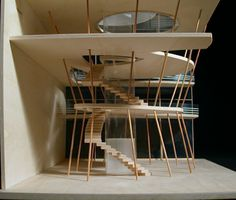 Architectural model; student project; grand atelier Modelbau; studenten projekte; Mode raum;