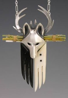 handcrafted animal totem jewelry, Coyote Jewelry , Coyote Totem