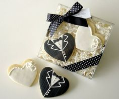 packaged wedding cookies