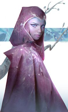 Fuschia, Ross Tran on ArtStation at https://www.artstation.com/artwork/n0n04