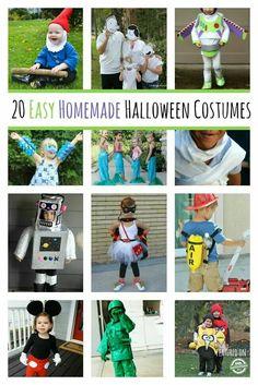 20 homemade Halloween costumes