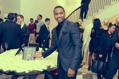 Trey Songz at his Versace-hosted Angels With Heart Foundation Benefit in New York City