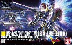 HGUC 1/144 Victory Two Assault Buster Gundam: UPDATE BOX ART, PHOTOREVIEW http://www.gunjap.net/site/?p=242984