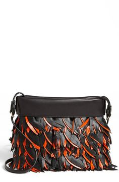 Marni Feather Crossbody Bag