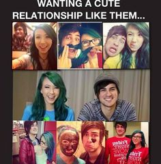 My favorite YouTube couple ever <3 ~Anthony and Kalel~
