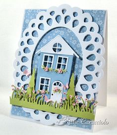 Village House by kittie747 - Cards and Paper Crafts at Splitcoaststampers