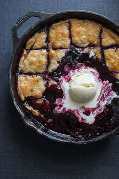 Merlot Boysenberry Pandowdy