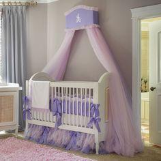 Tutu Tulle Crib Bedding from PoshTots