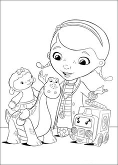 9 Doc McStuffins Printable Coloring Pages For Kids Find On Book Thousands Of