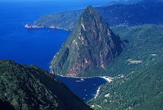st lucia the Pitons Life