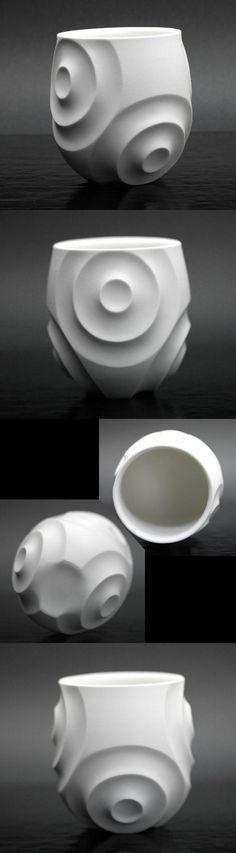 Estantería de Sake - porcelana blanca Shuhai