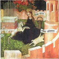 Unicorn in Art: Annunciation as hunt of the unicorn