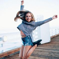 Jumping for joy! It's Saturday!