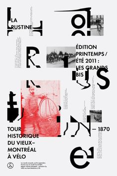 Typography / studioantwork: Clik clk Emanuel Cohen in Poster Design Graphic Design Posters, Graphic Design Typography, Graphic Design Illustration, Poster Designs, Typography Art, Layout Design, Book Design, Print Design, Design Color