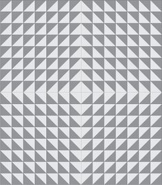 14 different Half Square Triangle Quilt Layouts