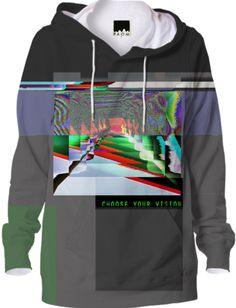 glitch Vaporwave Clothing, Glitch Art, Shirt Embroidery, Art Patterns, Sport Casual, Hoody, Piece Of Clothing, Tmnt, Urban Fashion