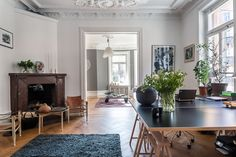 decordemon: An eclectic and elegant Swedish apartment