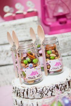 Party favor jars