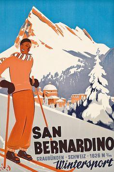 Christie's 'The Ski Sale': Record prices for vintage ski posters | Classic Driver Magazine