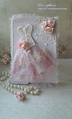 Открытка- платье