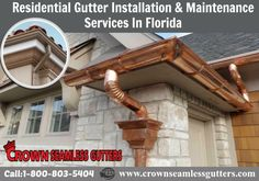 Gutters Conserve Water System in South Florida