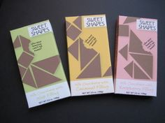 Sweet Shapes Chocolate Package Design