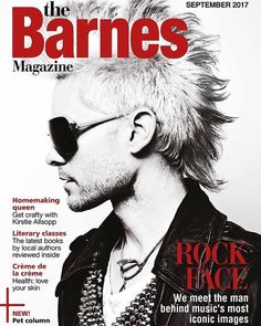"""Mi piace"": 11, commenti: 1 - 30 Seconds To Mars (@echevida) su Instagram: ""△̵̵ #Repost @paulharries ・・・ My cover of The Barnnes magazine. Big thanks for the feature.…"""