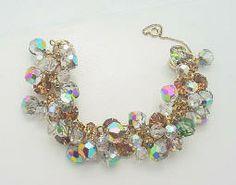 Juliana Dangling  Crystal Rhinestone Bracelet