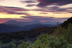 Blue Ridge Lookout:  Northern California