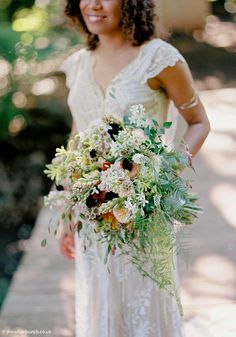 Jane bourvis boho wedding maunsel house somerset - a jane bourvis lace gown Boho Wedding, Summer Wedding, Wedding Flowers, Wedding Gown A Line, Wedding Gowns, Natural Bouquet, Wedding Events, Real Weddings, Bride
