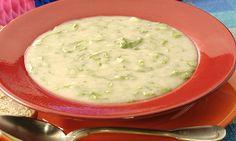 Sopa funcional de inhame com linhaça