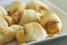 Desperation Dinners: Ham and Cheese Crescent Rolls