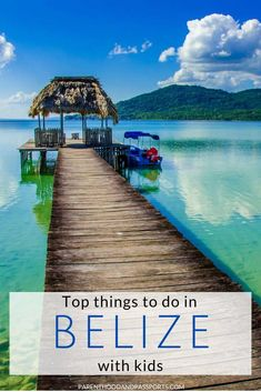 Looking to plan a trip to Belize with kids? This detailed Belize itinerary covers both western Belize and the islands, making for a fun, adventurous Belize family vacation. Click through for tips and the top things to do if you have one week in Belize. #belize #familytravel #centralamerica All Family, Family Travel, Latin America, North America, Travel Advice, Travel Tips, Travel Around The World, Around The Worlds, Belize City