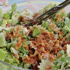 BLT Salad w/ Greek Yogurt Dressing