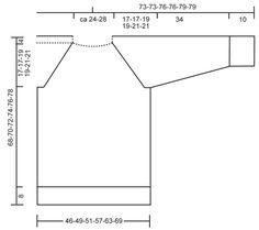 Pulôver raglan DROPS com grande gola, em Polaris.  Do S ao XXXL  Modelo gratuito de DROPS Design.
