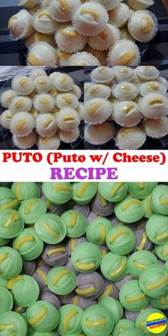 One of the Best and Popular Filipino Delicacy, The Puto (Puto with Cheese) Recipe