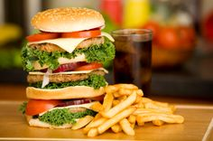 Avoid fats containing food to stay away from high cholesterol.