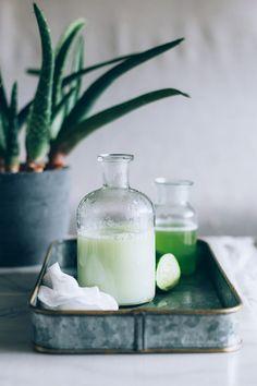 3-Ingredient DIY Soothing Cucumber Lotion