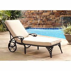 Lay back, relax and enjoy the outdoors in this Biscayne lounge chair from HSN.com. Get your rebate from RebateBlast.