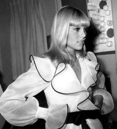 Sylvie Vartan in Dior, c. 1968