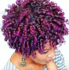 Yass purple @askproy - Black Hair Information
