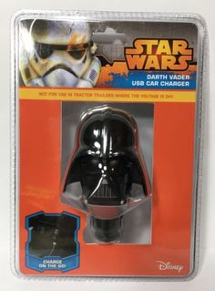 ThinkGeek-Star-Wars-Darth-Vader-USB-Car-Charger-Christmas-Gift-NEW