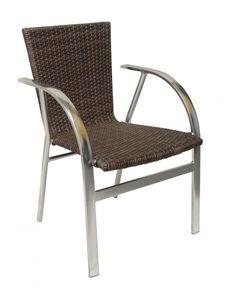 SILLON OVAL CHOCOLATE Outdoor Chairs, Outdoor Furniture, Outdoor Decor, Apartment Balconies, Santa Marta, Patio, Chocolate, Balcony, Home Decor
