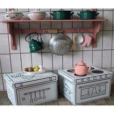Cajas para pintar Cocina