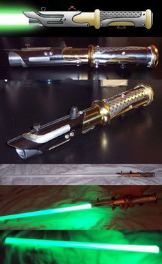 Whew, it's finally finished. In the pic, you can see the initial design rendering, and the saber itself once I built it. My wife actually helped design . New LED Lightsaber