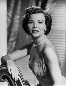 Nanette Fabray (1920 - 2018) ~  American actress, singer and dancer.